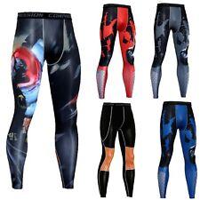 Herren Leggins Leggings Fitness Sport Laufen Hosen Kompression Tights Sporthose