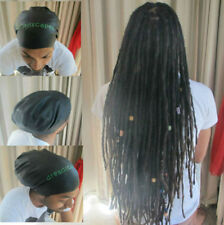 XL Dreadlock Swim cap in Black - Swimming cap for dreads, swimming hat