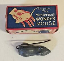 Vintage 1960's Original Mysterious Wonder Mouse Magic Trick Novelty Gag Gift Box