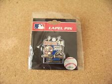 2016 Colorado Rockies at NY New York Yankees Yankee Stadium lapel pin