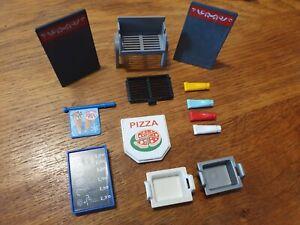 Playmobil Zubehör für Grill und Imbiss Pizzeria
