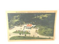 Saratoga Springs New York Howard Johnson's Route 9 Antique Postcard
