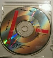 """MICHAEL BOLTON """"Love Is A Wonderful Thing"""" 3-Track-Single-CD 1991"""
