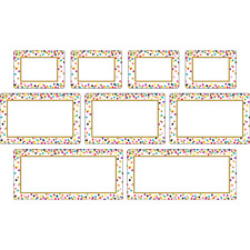 Clingy Thingies Confetti Labels TCR77325 Classroom Decoration