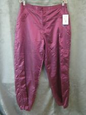 Vintage Oleg Cassini Sport Pink Pants NWT Size LP Active Wear Fully Lined