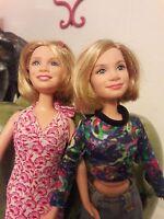 Mary Kate and Ashley Olsen Twin Dolls Mattel Inc 1987