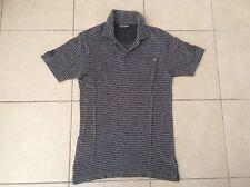 BILLABONG   Slim Fit Polo Top  D/Grey x L/Grey    Size S