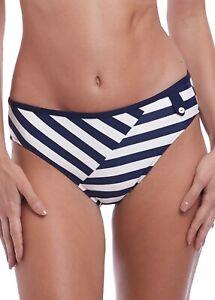 Fantasie Mid Rise Bikini Bottoms Cote D Azur  Sizes : S XL  Colour: Navy/White