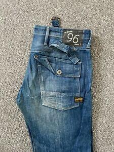 G-STAR Gstar Storm Elwood Heritage Loose fit Jeans Womens W30 L30 Blue Denim 24