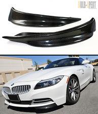 CARBON FIBER SPLITTER FOR 2009-2014 BMW Z4 E89 W/ REGULAR NON-MTECH FRONT BUMPER