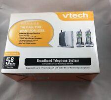 Vonage VTech IP 8100-2 Broadband Telephone System, Base & 2Handsets