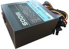 Netzteil ATX 500W Netzteil- 80 Plus Bronze- Modular 14cm FAN 20+4 Pol