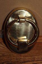 Box of 12 Nib Pottery Barn antique brass classic oval door knockers