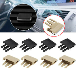 4x Car Air Conditioning Vent Louvre Blade Slice Clips For Toyota Corolla