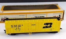 Bachmann 1120 Burlington Northern Yellow Mechanical Reefer Car BN 590508 HO