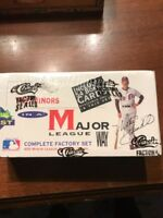 Classic 1991 Complete Set of 450 Minor League Baseball Cards unopened new