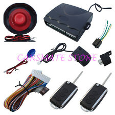 Quality 1 Way Car Alarm System  Remote Control With Flip Key Fit For All Cars
