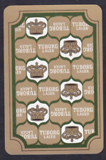 Tuborg Lager Beer single Swap Playing Card