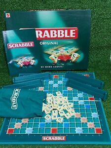 Vintage SCRABBLE Original Family Word Board Game Mattel 1999 Complete