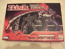 Risk Transformers Board Game Cybertron Battle Edition Hasbro 2007
