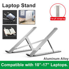 Adjustable Aluminum Laptop Notebook Table Stand Tray Lazy Computer Desk Foldable