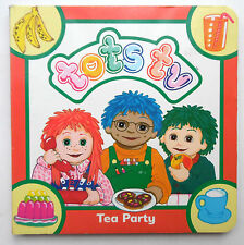 TOTS TV- TEA PARTY ILLUSTRATED BY JOAN HICKSON BOARD BOOK 1995
