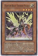 3 x Yu-Gi-Oh Card - GX02-EN003 - PHANTOM BEAST THUNDER PEGASUS (super rare holo)