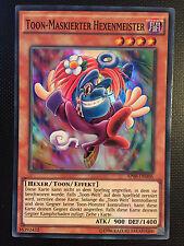 YUGIOH!! Toon-Maskierter Hexenmeister AP08-DE006! Super Rare! Near Mint!