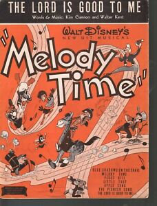 Lord Is Good To Me 1948 Disney's Melody Time