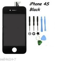 Replacement LCD Touch Screen Digitizer Glass Assembly for iPhone 4S Black +Tools