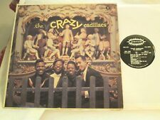 THE CRAZY CADILLACS ORG '59 CLASSIC DOO-WOP BLACK/SILVER JUBILEE FIRST PRESS! EX