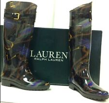 Ralph Lauren Rain Rossalyn Welly Wellington Women's Boots UK 6 EU 39