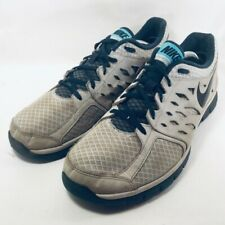 Nike Flex Run 2013 Mens Running Shoes Gray Black Low Top Sneakers 579821 US 11