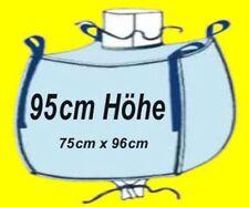 ☀️ 12 Stück Big Bag 95 cm hoch 75 x 96 cm Bags BIGBAG Fibc 1000kg ☀️☀️☀️☀️☀️☀️☀️