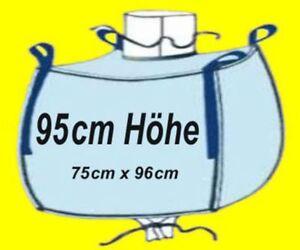 ☀️ 12 Stück Big Bag 95 cm hoch 75 x 96 cm Bags BIGBAG Fibc 1000kg #1 ☀️☀️☀️☀️☀️