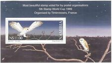 Namibia Bird Postal Stamps