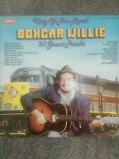 Boxcar Willie ‎King Of The Road Warwick Records ‎WW5084 Vinyl LP Compilation