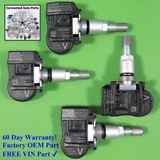 Set of 4 Nissan TIRE PRESSURE SENSOR TPMS OEM 40700-3AN0B V w/o keyless SET-TS68