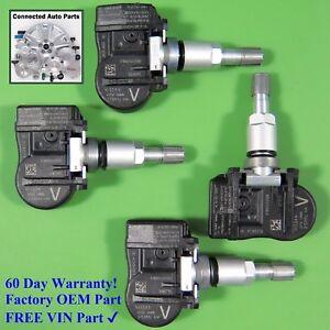 Set of 4 Nissan TIRE PRESSURE SENSOR TPMS OEM 40700-3AN0B V SET-TS68