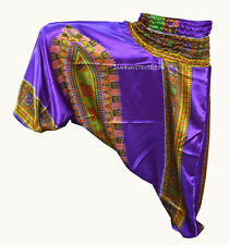INDIAN BAGGY GYPSY HAREM PANTS YOGA MEN WOMEN STYLISH AFRICAN PRNT TROUSER sd