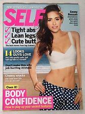SELF Magazine February 2013 Emmy Rossum