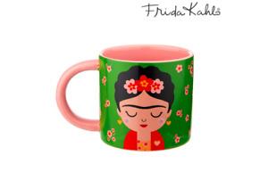 Sass & Belle Boho Fiesta Frida Kahlo Flower Design Mug Coffee Tea Cup