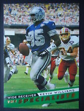 NFL 153 Kevin Williams Dallas Cowboys SkyBox Specialists 1995