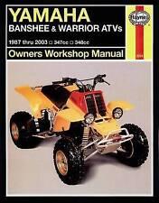 Yamaha Banshee Warrior & Raptor ATVs (87 - 10) Haynes Repair Manual