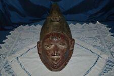 Art African/Antique Mask African/Nigeria/Mask Wooden Polychromos