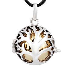 Plaqué argent cage harmony bola collier pendentif grossesse carillon balle