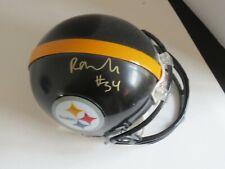 Rashard Mendenhall Pittsburgh Steeler  Autographed Mini Helmet