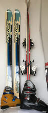 New 120cm Jr Ski Package w/ Kid binding & Nordica boots Your Choice