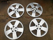 "Chevy HHR hubcaps wheel covers 16"",9596079-USED-READ DESCRIPTION, set of 4"