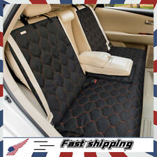 Dog Car Seat Cover Waterproof Pet Bench Seat Cover Nonslip and Heavy Duty